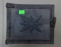Печное и чугунное литье:Дверка чугунная топочная(220х220 мм)