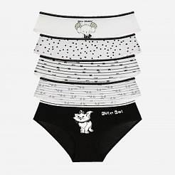 """Трусики для дівчаток Donella вік 10/11, ріст 146-152 """"Cute cat"""""""