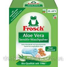 Пральний порошок Фрош Алое Віра Frosch Aloe Vera Color Powder 1.35 кг