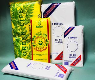 Фасовочные пакеты в упаковке и в рулоне