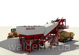 Бетонный завод на шасси WALDER