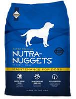 Корм для собак с нормальной физической активностью Nutra Nuggets Maintainance 15 кг