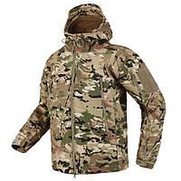 Куртка тактическая Softshell Мультикам Софтшелл