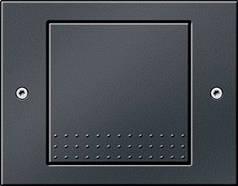 Выключатель одноклавишный Gira TX_44 Антрацит