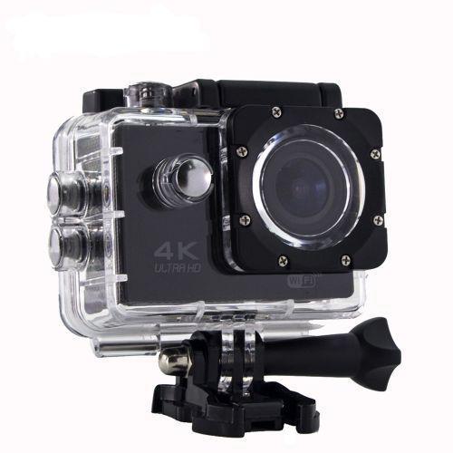 Спортивная Видео Экшн-камера S2 Wi- Fi Waterproof 30m  4K Ultra HD Action Camera водонепроницаемая Black