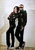 Мужской спортивный костюм на молнии с логотипом ferrari, фото 3