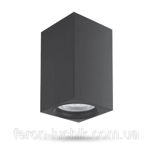 Накладной неповоротный светильник Feron ML307 черный