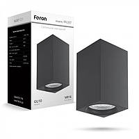 Накладной неповоротный светильник Feron ML307 черный Новинка, фото 1