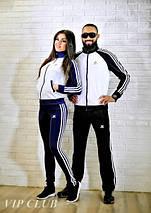 Мужской спортивный костюм на молнии adidas, фото 3