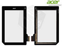 Touchscreen (сенсорный экран) для Acer Iconia Tab B1-A71, черный, оригинал