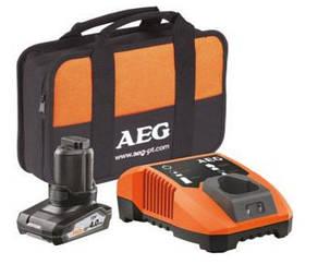 Набор AEG Li1240BL аккумулятор, зарядное устройство и сумка, фото 2