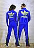 Мужской спортивный костюм на молнии с логотипом adidas