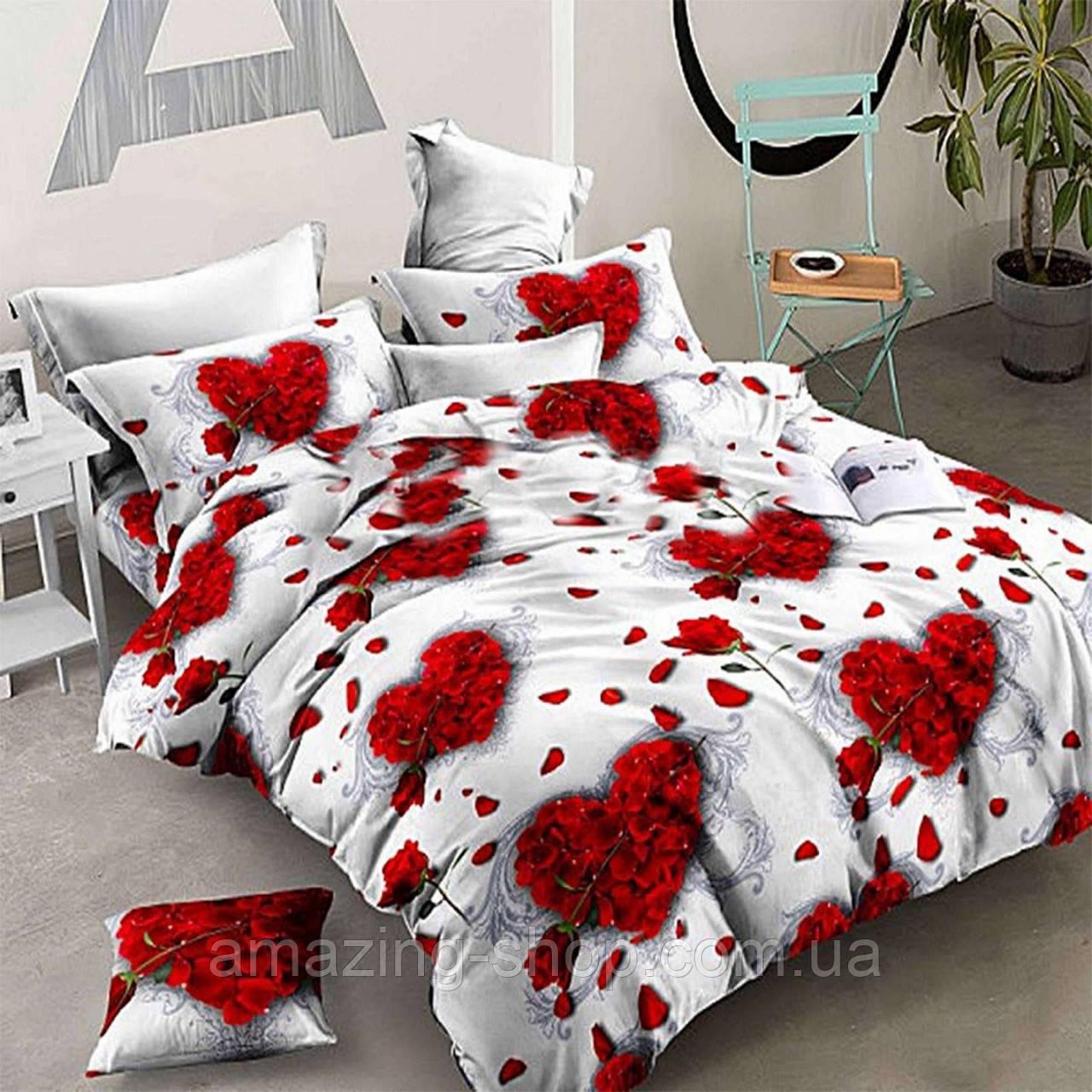 Полуторный комплект постельного белья Бязь Gold Размер 150*215