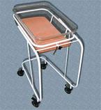Ліжечко новонародженого на колесах з кювезом і матрасиком, фото 3