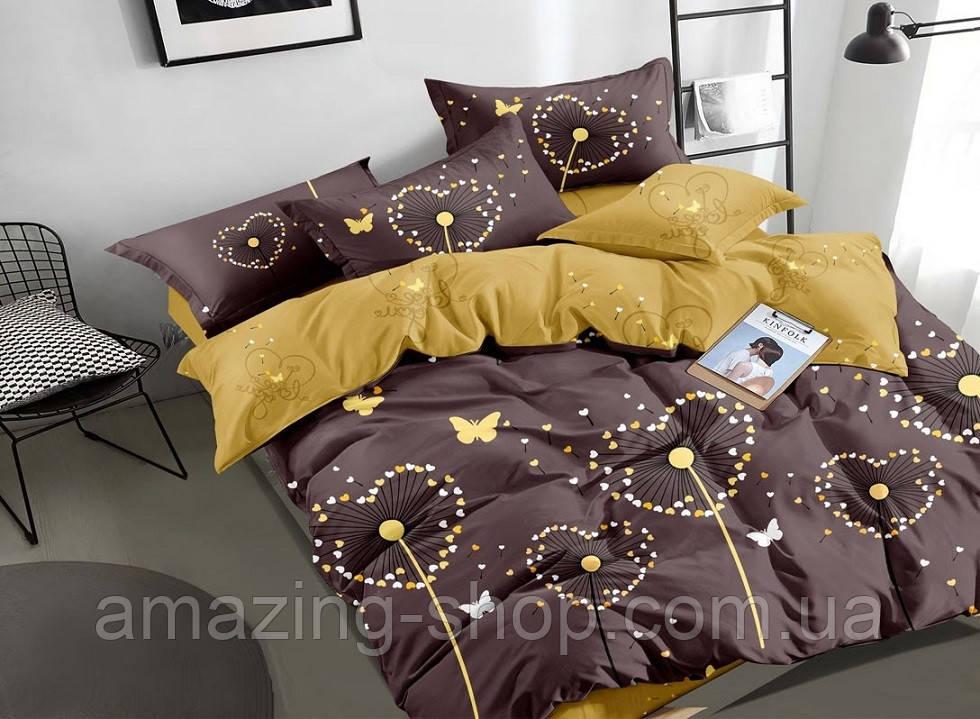 Полуторное постельное белье Бязь Gold Размер полуторный 150*215