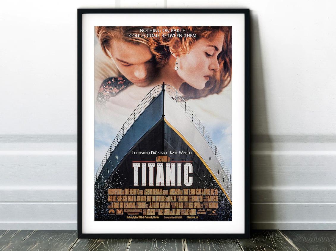 Плакат Titanic формат А3