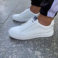 Чоловічі шкіряні кросівки Puma, фото 1