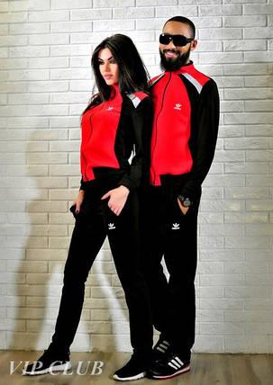 Мужской спортивный костюм на молнии без капюшона adidas, фото 2