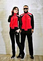 Мужской спортивный костюм на молнии без капюшона adidas, фото 3