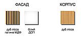 Тумба прикроватная 1дв+2ш, ІН 03, Модульная система Интенза, дуб лисса, фото 7