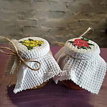 Набір квіткового варення: з Троянди та Жасмину, 2 баночки по 85 мл. Набор варенья из цветов Розы и Жасмина
