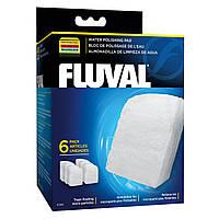 Вкладыш в фильтр Fluval «Water Polishing Pad» 6 шт. (для внешнего фильтра Fluval 304 / 305 / 306 / 404 / 405 /