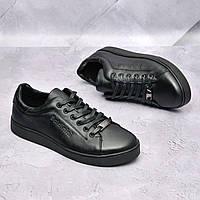 Мужские кожаные туфли Billionaire Черные, фото 1