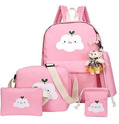 Рюкзак 5 в 1 (рюкзак, сумка, косметичка, пинал, мешочек)