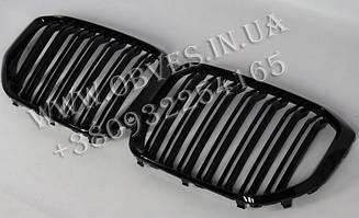 Решетка радиатора BMW X5 G05 (2018-...) стиль X5M ноздри