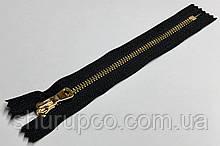 Молния Металл  тип 5 (18 см) золото (опт и розница)