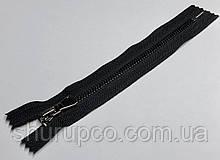 Молния Металл  тип 5 (18 см) темный никель (опт и розница)