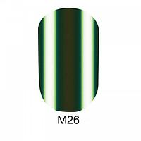 Гель-лак Naomi Metallic Collection M26, 6 мл