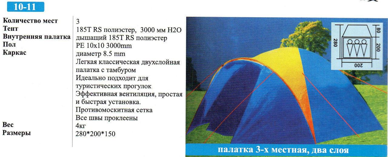 Палатка Coleman 1011