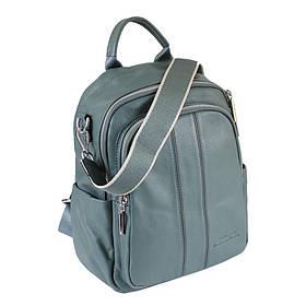Сумка-рюкзак шкіряні de esse Морська хвиля