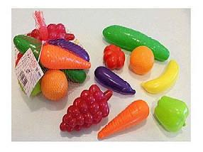 Фрукти і овочі в наборі 8 предметів, Оріон/28 362 ТМ BESTTOYS