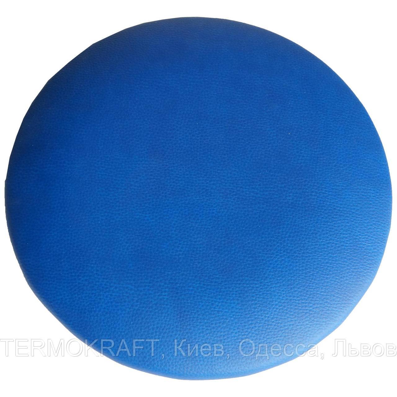 Сидіння стільця АНТ D-400 кругле синє