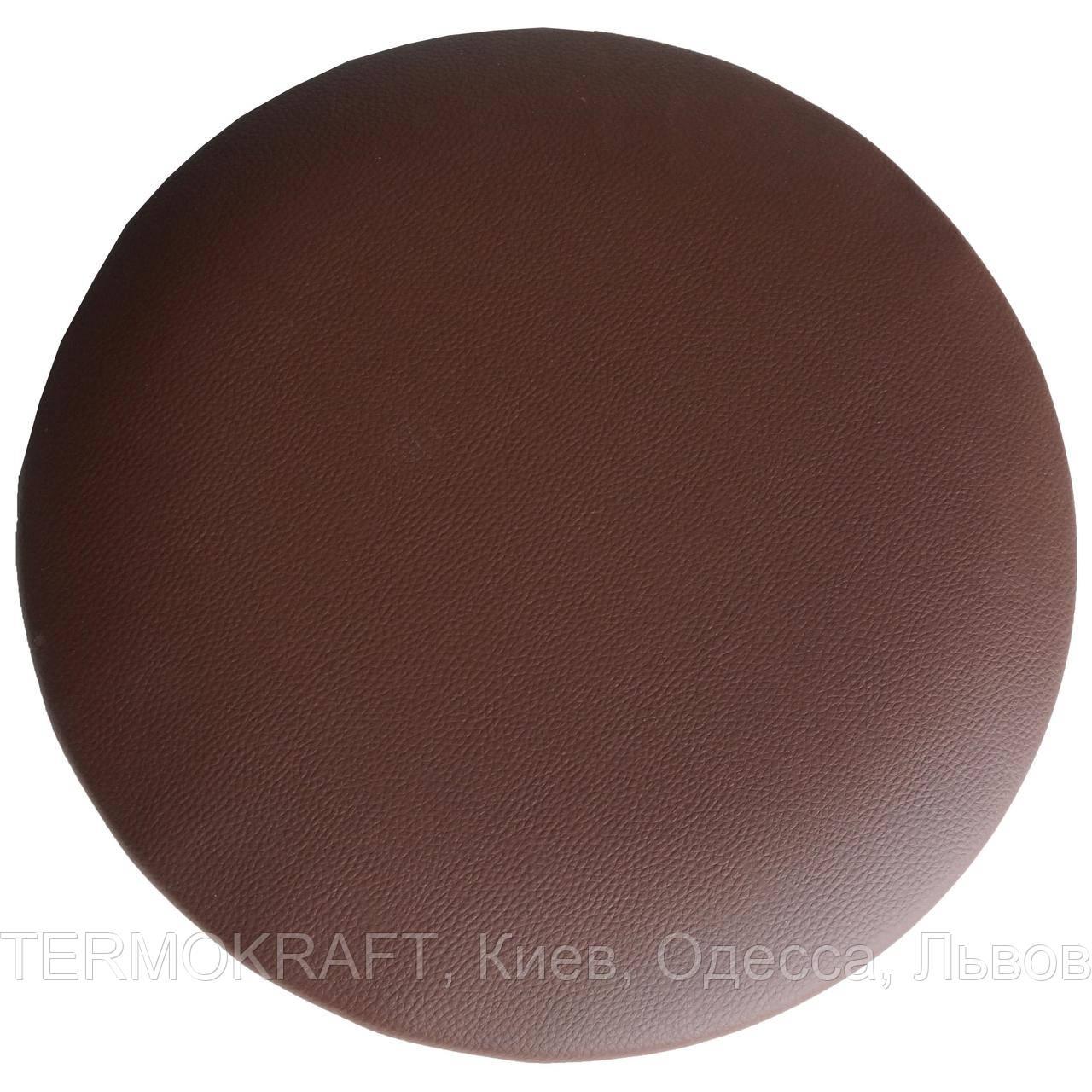 Сидіння стільця АНТ D-400 кругле коричневе