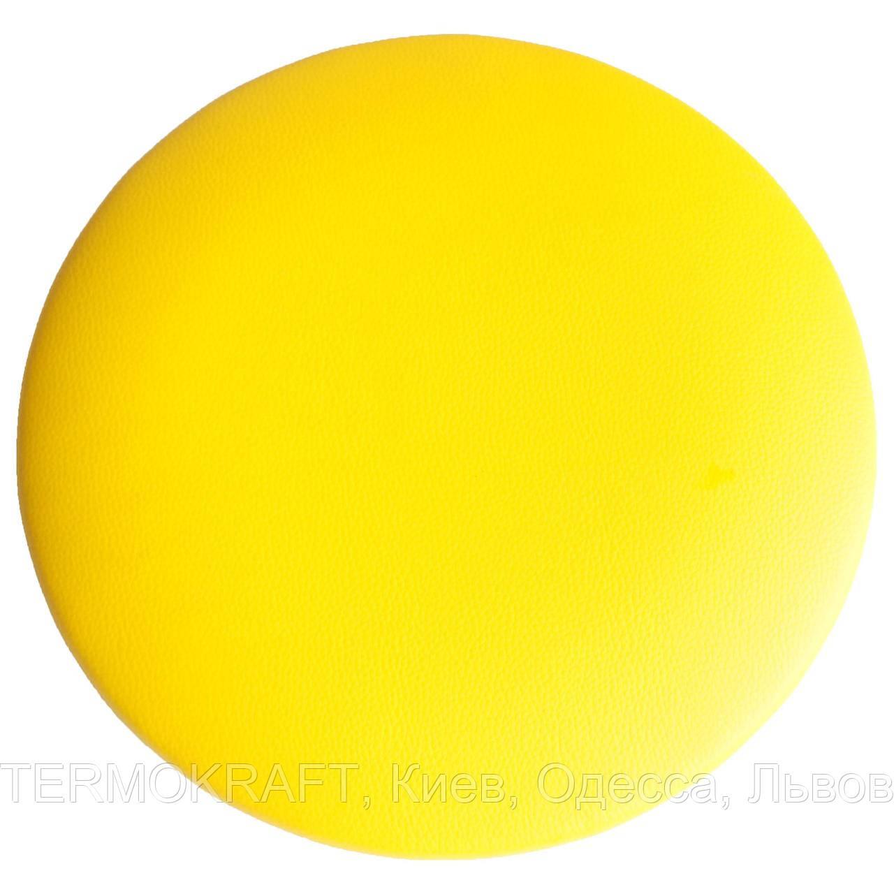 Сидіння стільця АНТ D-400 кругле жовте