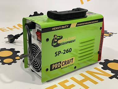 Інверторний зварювальний апарат Procraft SP-260., фото 2