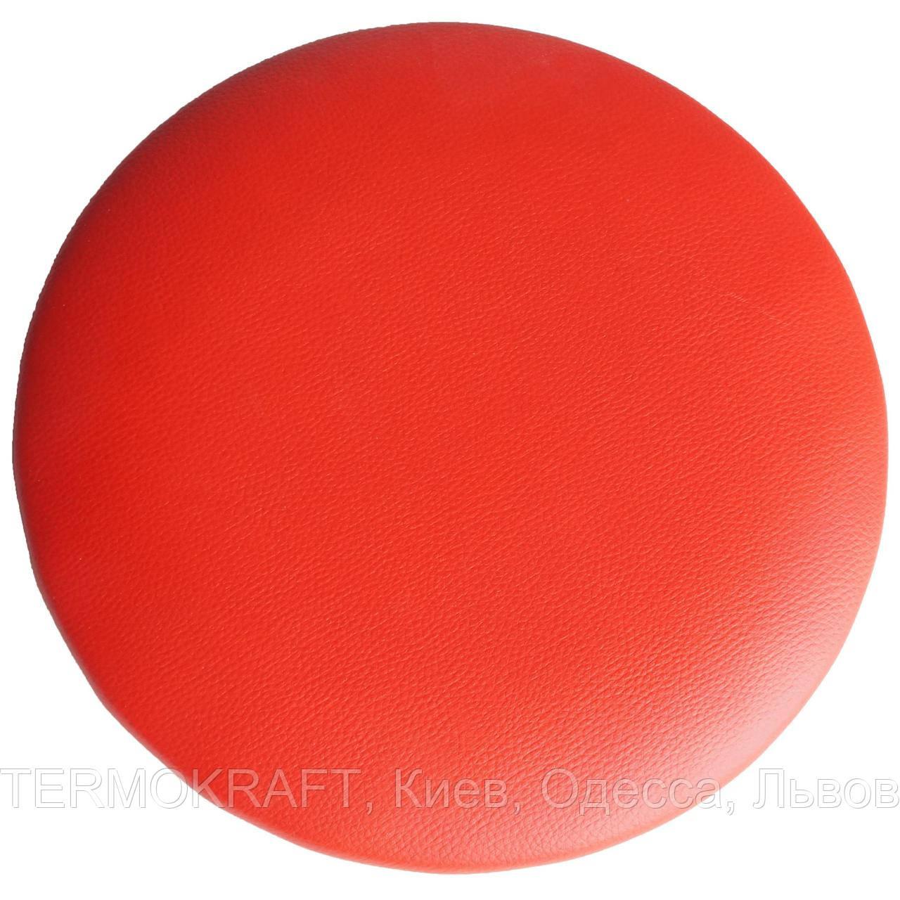 Сидіння стільця АНТ D-400 кругле червоне