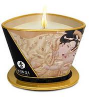 Массажная свеча Shunga MASSAGE CANDLE VANILLA  Массажная свеча Ваниль
