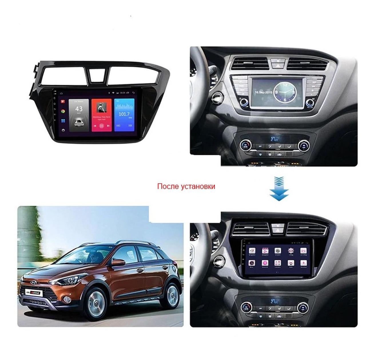 Штатная Android Магнитола на Hyundai i20 2014-2018 Model 3G-WiFi-solution (М-Хи20н-9-3Ж)