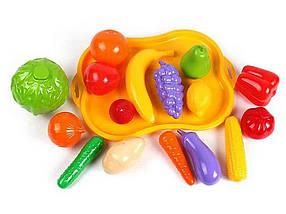 Набір фруктів і овочів 5347 ТМ 01TOYS