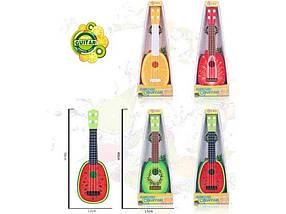 Гітара Фрукти, 4 віді в коробці 40х15см 819-20 ТМ ABTOYS
