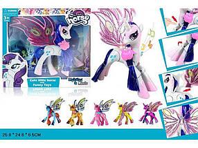 Єдиноріг My Lіttle Pony з крилами батарейки музика світло SM2012 ТМ ABTOYS