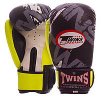Боксерские перчатки TWINS TW-2206 10 унций, фото 1