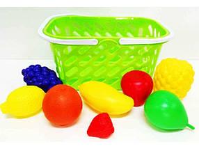 Кошик з фруктами, 8 предметів КВ 04-453 ТМ ABTOYS