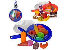 Продукти сковорідка, кухонне приладдя, 2 види, 31-18-8см XG1075-2-3 ТМ ABTOYS