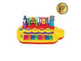 Піаніно звірятки на гойдалках (звук) 033423 ТМ ABTOYS
