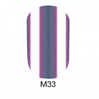 Гель-лак Naomi Metallic Collection M33, 6 мл